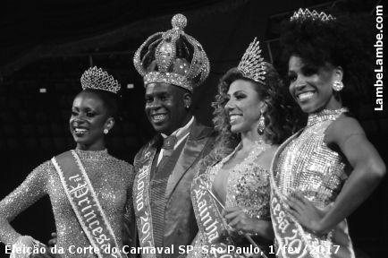 Eleição da Corte do Carnaval SP 2017