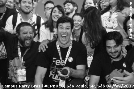 Campus Party Brasil #CPBR10 Sábado