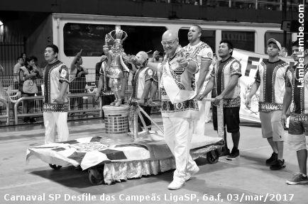 Carnaval SP 2017 Desfile das Campeãs LigaSP